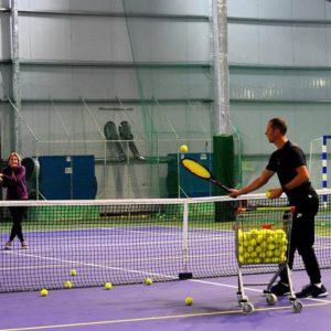 Теннисный корт в Нижнем Новгороде